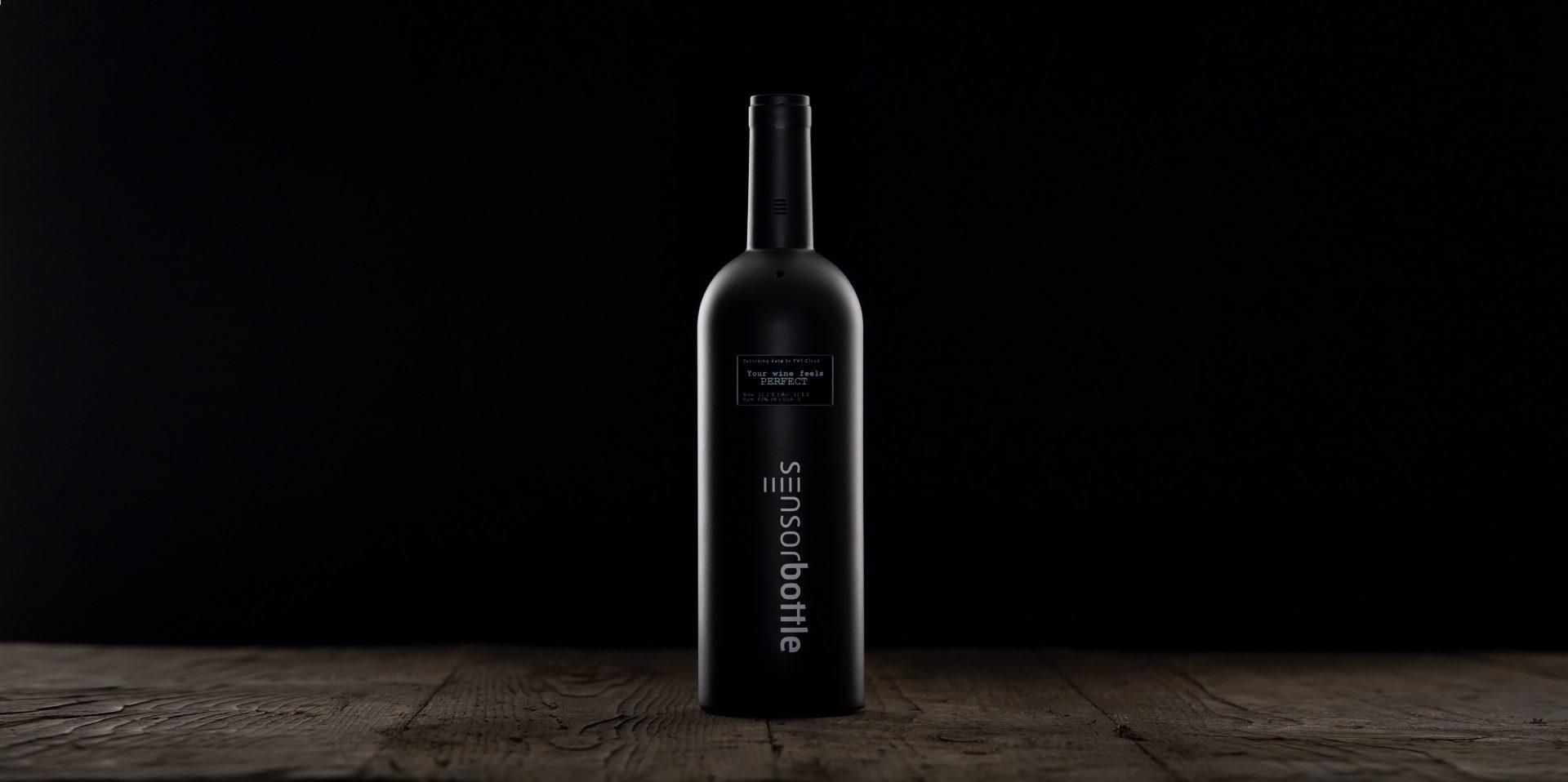 Die smarte Weinflasche mit Sensoren